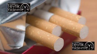 Sarma Sigara ve Makaron Satışı Cezası